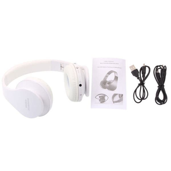 Shop Nx 8252 Hot Foldable Wireless Stereo Sports Bluetooth Headphone Headset With Mic For Iphone Ipad Pc Free Shipping On Orders Over 45 Overstock 27483103