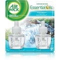 Air Wick Scented Oil Air Freshener Refill Twin Pack, Fresh Waters 2 ea - Thumbnail 0