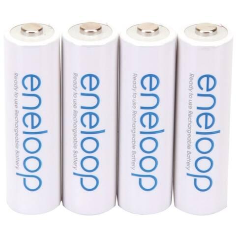Panasonic Bk-3Mcca4Ba Eneloop(R) Batteries (Aa; 4 Pk)