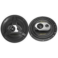 6.5-Inch 200-Watt 2-Way Coaxial Speaker, Set of 2