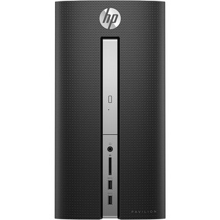 Refurbished - HP Pavilion 570-A135M Desktop PC AMD A9-9430 3.20GHz 8GB RAM 1TB HDD W10