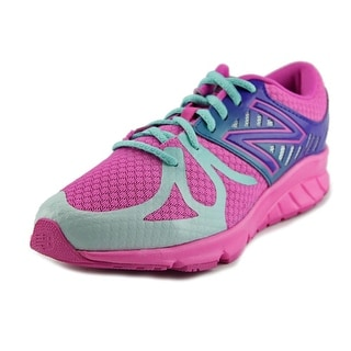 New Balance KJ200 Youth  Round Toe Synthetic Pink Sneakers
