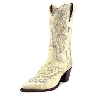 Dan Post El Paso Women Pointed Toe Leather Western Boot