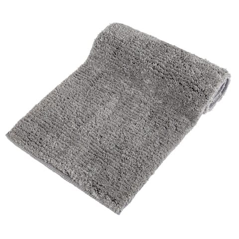 Classic Shag Textured Plush and Ultrasoft Bath Rug (24 in x 60 in)