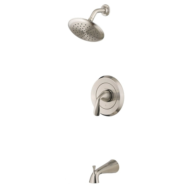 American Standard TU186.508 Fluent Tub and Shower Trim Package with 1.8 GPM Single Function Shower Head