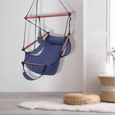 Well-equipped S Hook High Strength Cacolet Blue Hanging Seat
