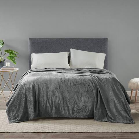 Madison Park Microlight Ultra Soft Plush Blanket