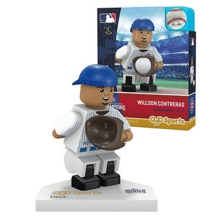 Chicago Cubs 2016 World Series Champions Wilson Contreras #40 Minifigure - Multi