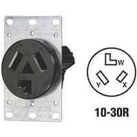 Leviton Flush Dryer Outlet R30-05207-S10 Unit: EACH