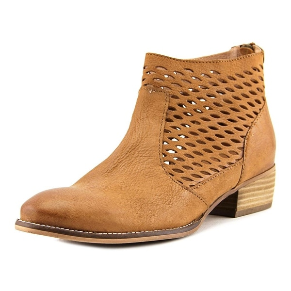 Seychelles Bearing Women Round Toe Leather Bootie