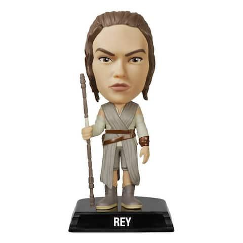 """Star Wars The Force Awakens Wacky Wobbler 7"""" Bobble Head Rey - multi"""