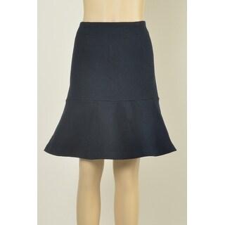 Tommy Hilfiger Textured Flared Hem Skirt - XL