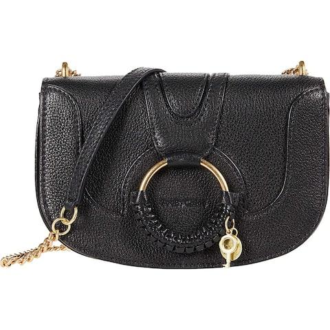 See by Chloe Hana Chain Crossbody Bag Black One Size