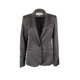 Calvin Klein Women's Long Sleeve Single Blazer Jacket - 2