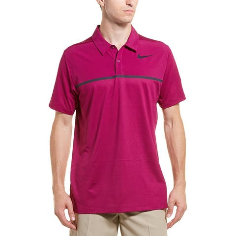 Nike Golf Dry Standard Fit Mobility Remix Polo