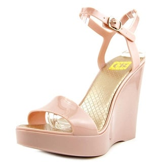 Cape Robbin Armand-O-MB-1 Women Open Toe Synthetic Pink Wedge Sandal