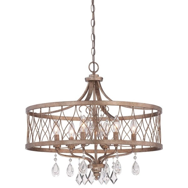 Minka Lavery 4406-581 6 Light Single Tier Chandeliers from the West Liberty Collection - olympus gold