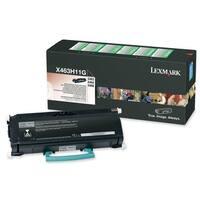 """Lexmark X463H11G Lexmark High Yield Return Program Black Toner Cartridge - Black - Laser - 9000 Page - 1 Each"""