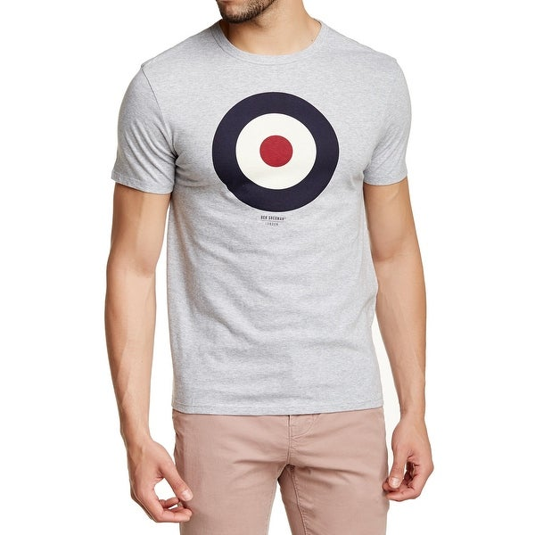 2e8c4c3f5 Shop Ben Sherman NEW Gray Mens Size Large L Target Graphic Tee Shirt - Free  Shipping On Orders Over $45 - Overstock - 20737056
