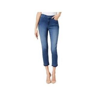 NYDJ Womens ALINA Ankle Jeans Tummy Control Slimming Fit