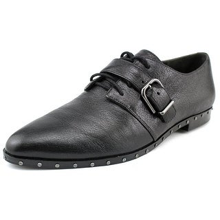 Via Spiga Ladonna Round Toe Leather Oxford