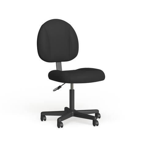 Porch & Den Deepdene Adjustable Black Office Chair