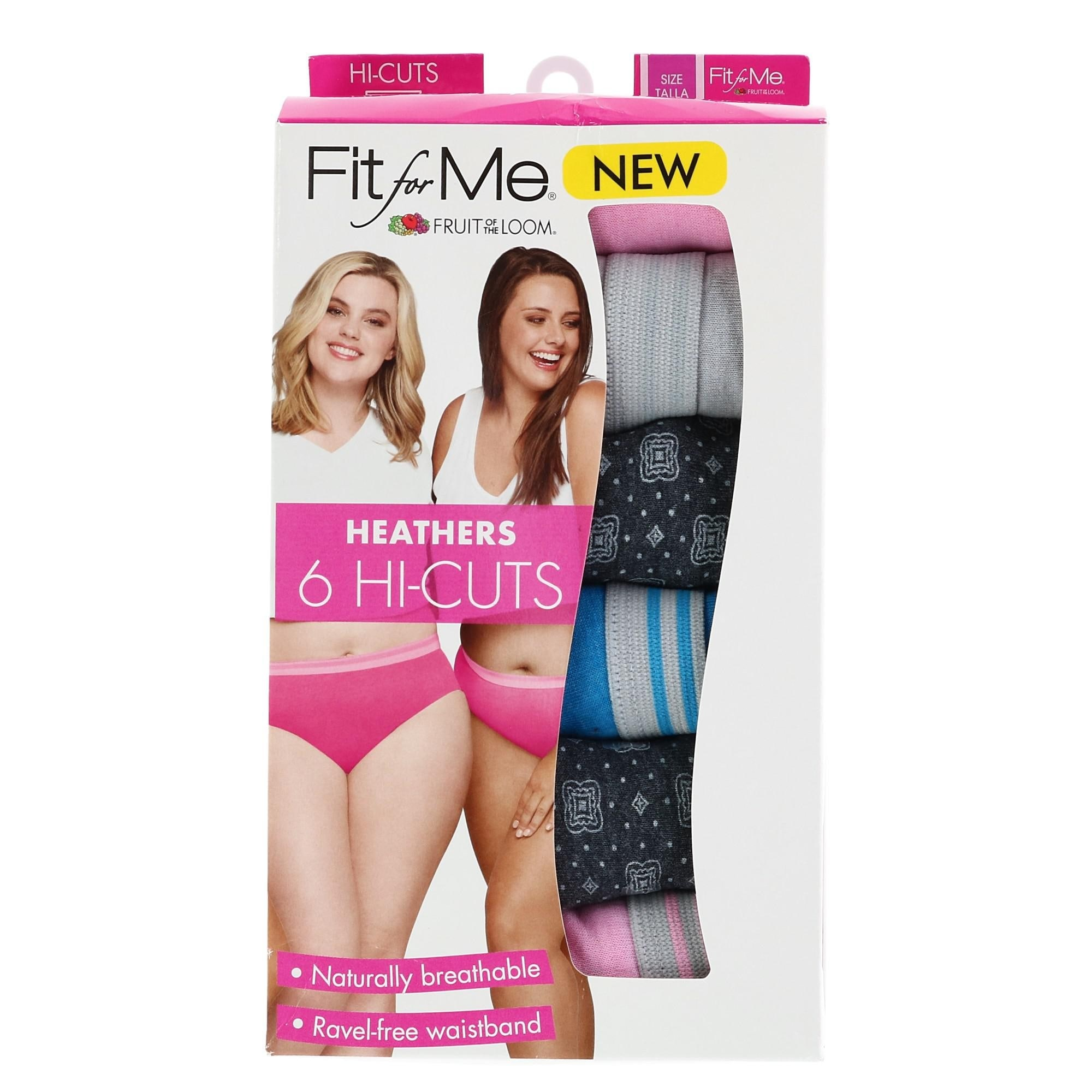Fruit Of The Loom Women S Plus Size High Cut Underwear 6 Pair Pack Multi Overstock 27280118 It feels so much more comfortable that the usual. fruit of the loom women s plus size high cut underwear 6 pair pack multi