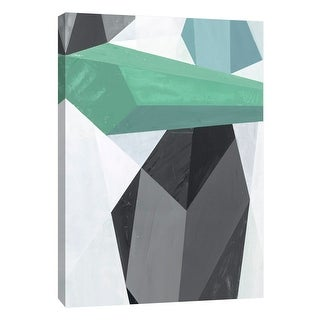 """PTM Images 9-105481  PTM Canvas Collection 10"""" x 8"""" - """"Glass Vase 6"""" Giclee Abstract Art Print on Canvas"""