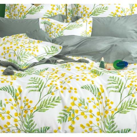 Linnett 100% Cotton Reversible Comforter Set