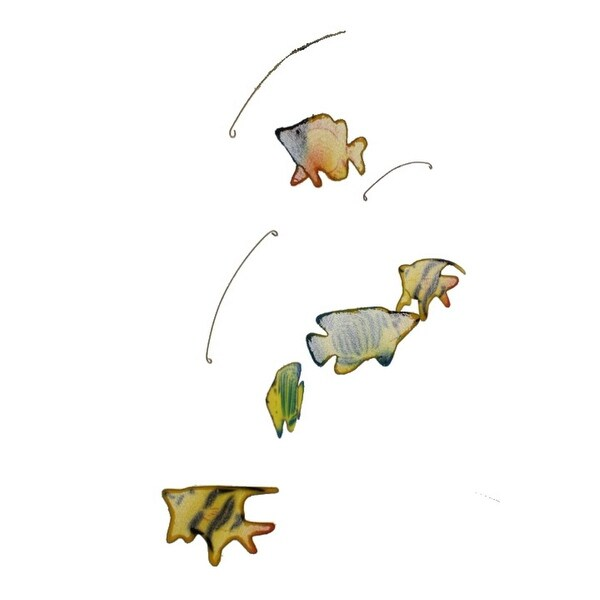 Season's Direct Decorative Mobile Mesh Fish