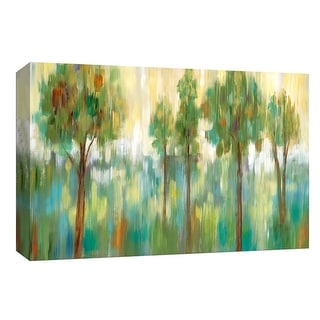 """PTM Images 9-148035  PTM Canvas Collection 8"""" x 10"""" - """"Meadow Light"""" Giclee Forests Art Print on Canvas"""
