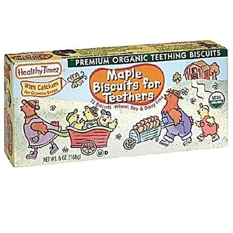 Healthy Times - Maple Teething Biscuits ( 12 - 6 OZ)
