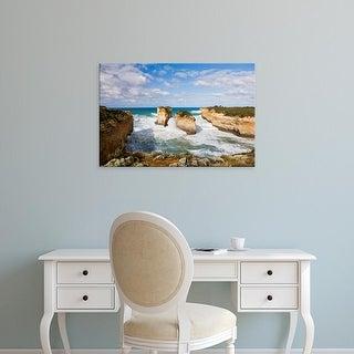 Easy Art Prints Martin Zwick's 'The Coastline Near Loch Ard Gorge Ii' Premium Canvas Art