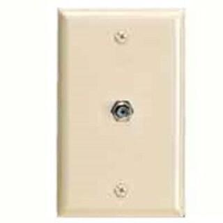 Cooper Wiring 2128V-BOX Walplat 1Gng Tele Ivy