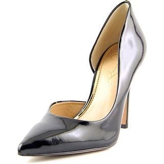 Jessica Simpson Claudette Pointed Toe Patent Leather Heels