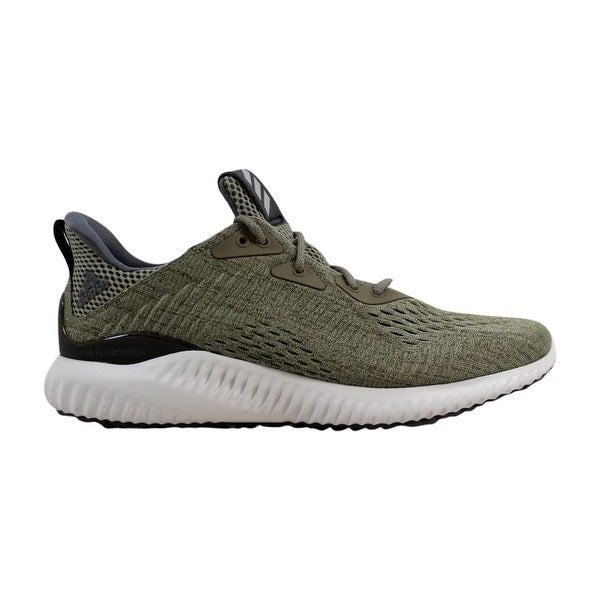 9dd1ebc98 Shop Adidas Alphabounce EM M Olive Green BW1203 Men s - On Sale ...