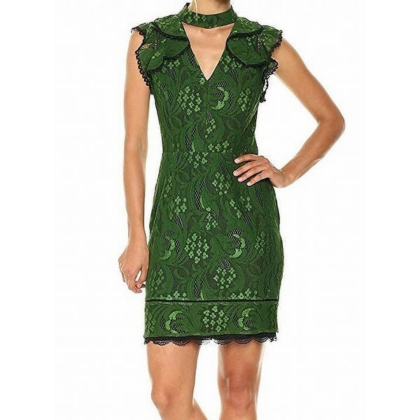Shop Adelyn Rae Womens Small Lace Choker Sheath Dress - Free Shipping On  Orders Over  45 - Overstock.com - 27198984 e807cb8d00