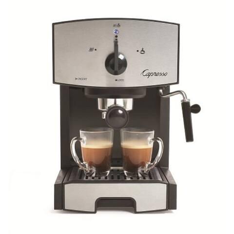 Capresso EC50 Pump Espresso & Cappuccino Machine (Stainless Steel)