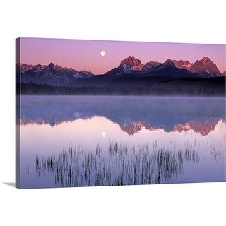 """Sawtooth National Recreation Area, Idaho, USA"" Canvas Wall Art"