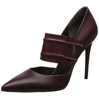 Kenneth Cole New York Womens Leather Slip On Pumps - 6 medium (b,m)