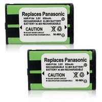 Replacement Panasonic P-P104 NiMH Cordless Phone Battery (2 Pack)