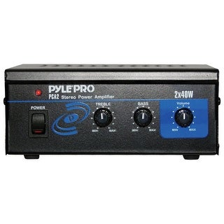Pyle Mini Computer Stereo Power Amplifier