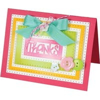 Rectangles Dotted - Sizzix Framelits Dies By Stephanie Barnard 9/Pkg
