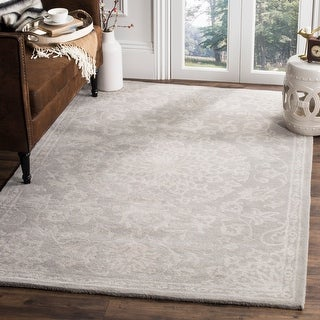 Link to Safavieh Handmade Bella Cherry Modern Floral Wool Rug Similar Items in Transitional Rugs