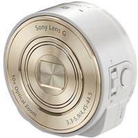 Sony DSC-QX10 Digital Camera Module for Smartphones (White) (International Model)