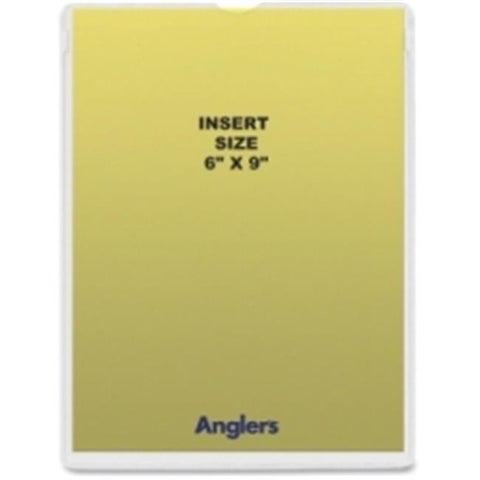 Anglers Company ANG1456P50 Self-Stick Crystal Clear Poly Envelopes