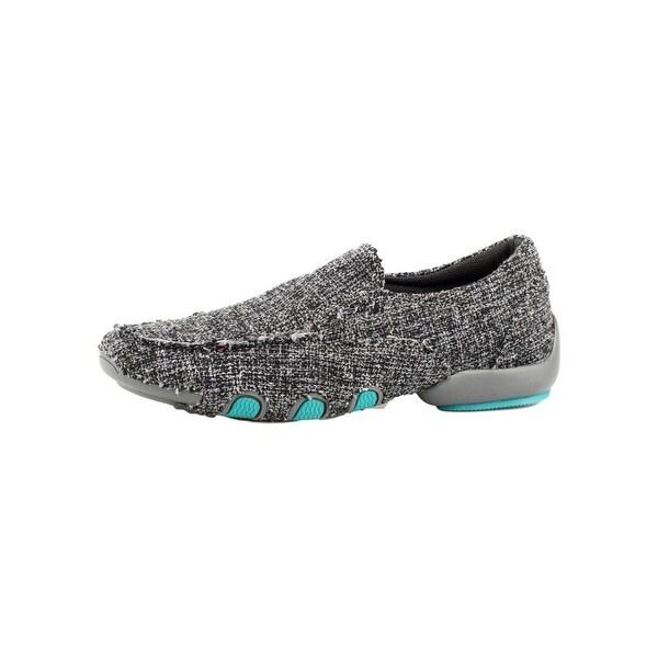 Roper Western Shoes Womens Tweed Moc Liza