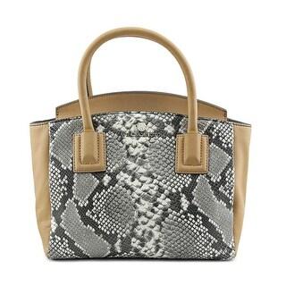 Vince Camuto Falon Satchel Women Leather Tan Satchel - Beige
