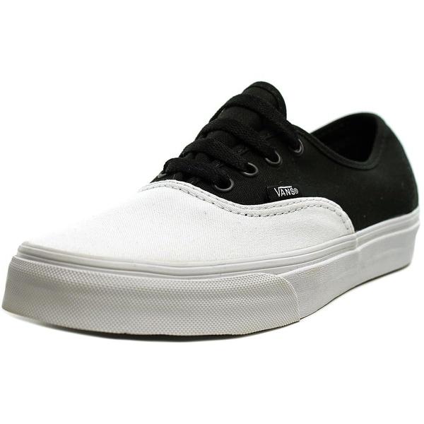 Vans Authentic Men True White/Black Skateboarding Shoes