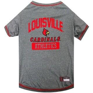 Collegiate Louisville Pet Tee Shirt